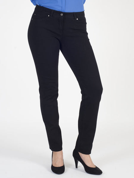 Gerry Weber Black Perfect Fit 'Roxy' Stretch Jeans