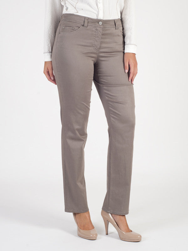 Gerry Weber Taupe Danny Easy Fit Jean