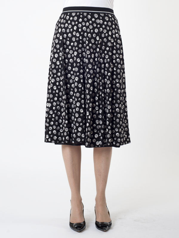 Gerry Weber Irregular Spot Jersey Skirt
