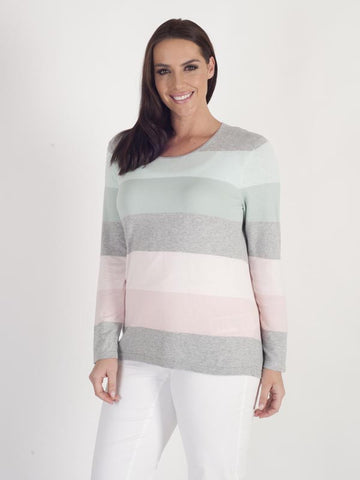 Gerry Weber Stripe Fine-knit Jumper
