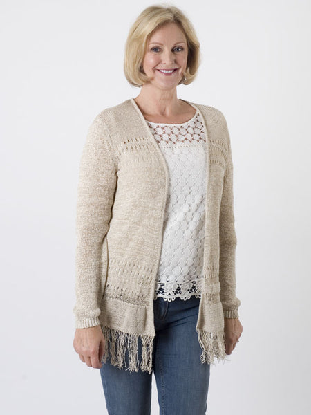 Gerry Weber Crochet-knit Cardigan