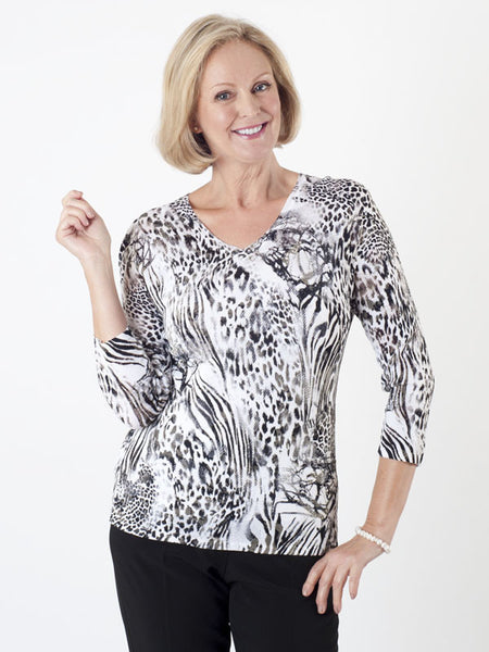 Gerry Weber Animal-print Jumper