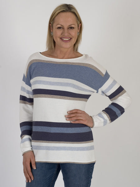 Gerry Weber Stripe-knit Jumper