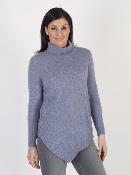 Gerry Weber Blue Marl Soft Knit Jumper