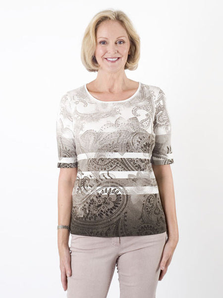 Gerry Weber Paisley Jersey Top