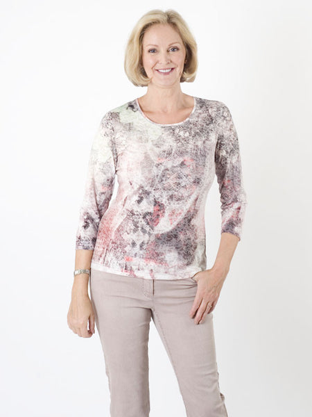 Gerry Weber Aztec Devoré Jersey Top