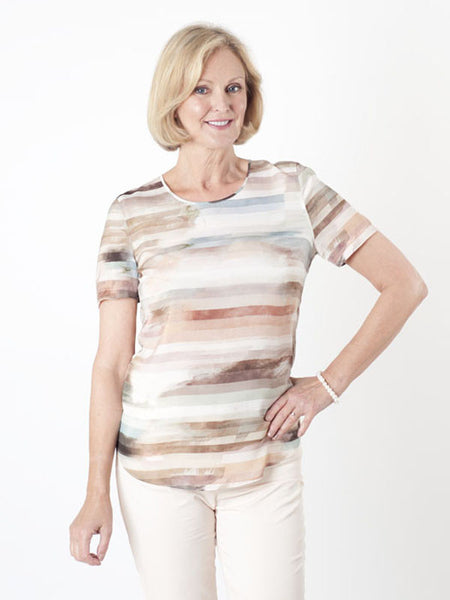 Gerry Weber Stripe-print Top