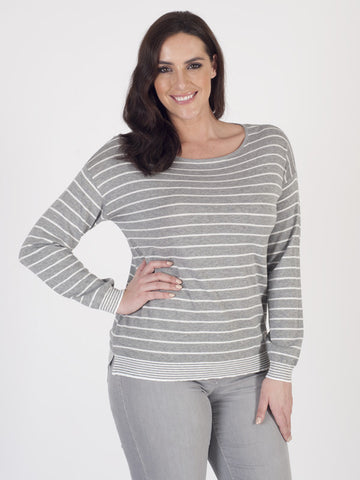 Gerry Weber Organic Cotton Stripe Jumper