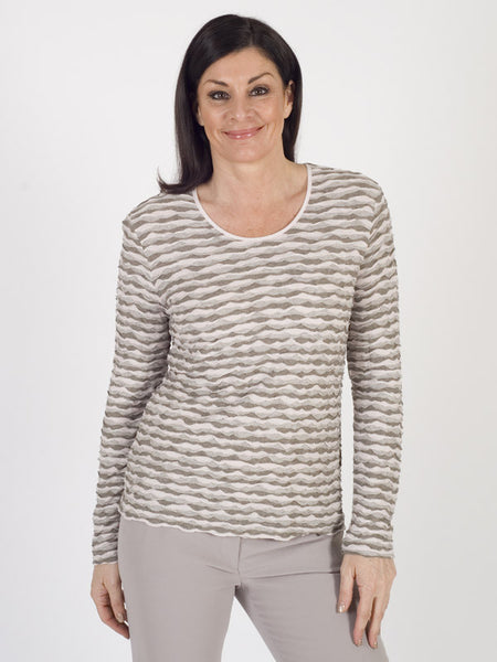 Gerry Weber Textured Jersey Top