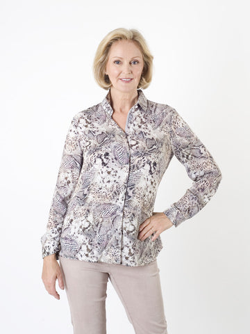Gerry Weber Animal Multi-print Blouse