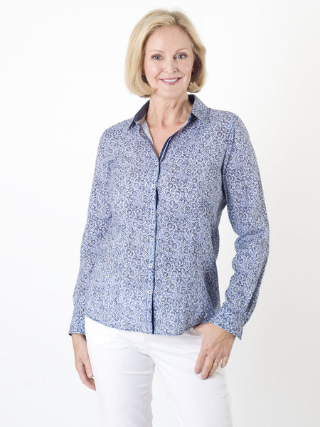 Gerry Weber Printed Cotton Blouse