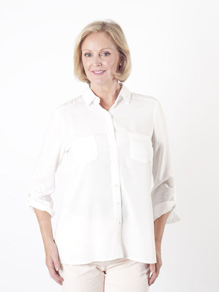 Gerry Weber Ivory Soft Blouse