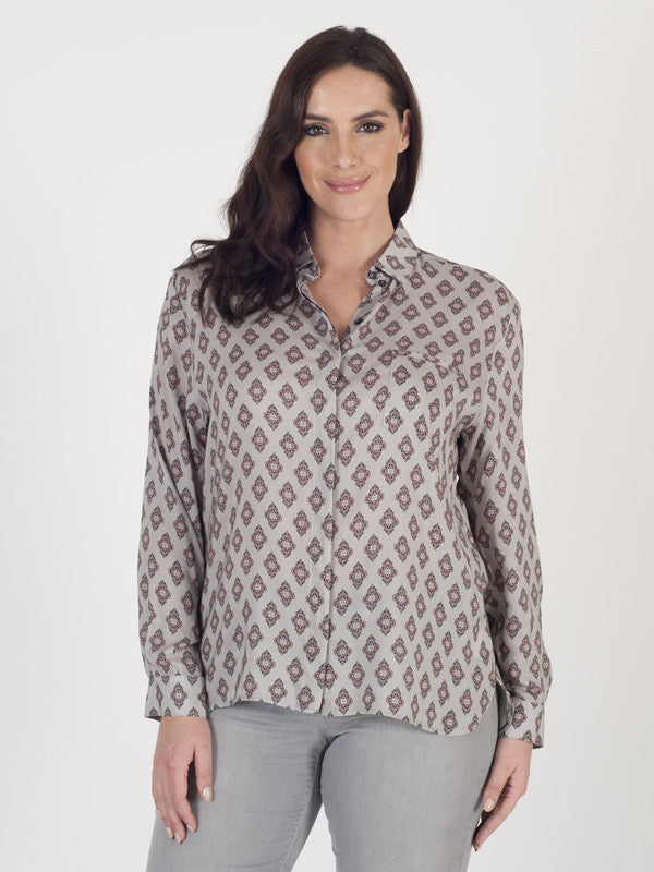 Gerry Weber Tile-print Soft Blouse