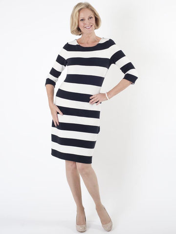 Taifun Stripe Jersey Dress
