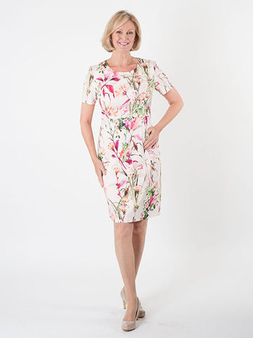 Gerry Weber Floral Stretch Cotton Dress