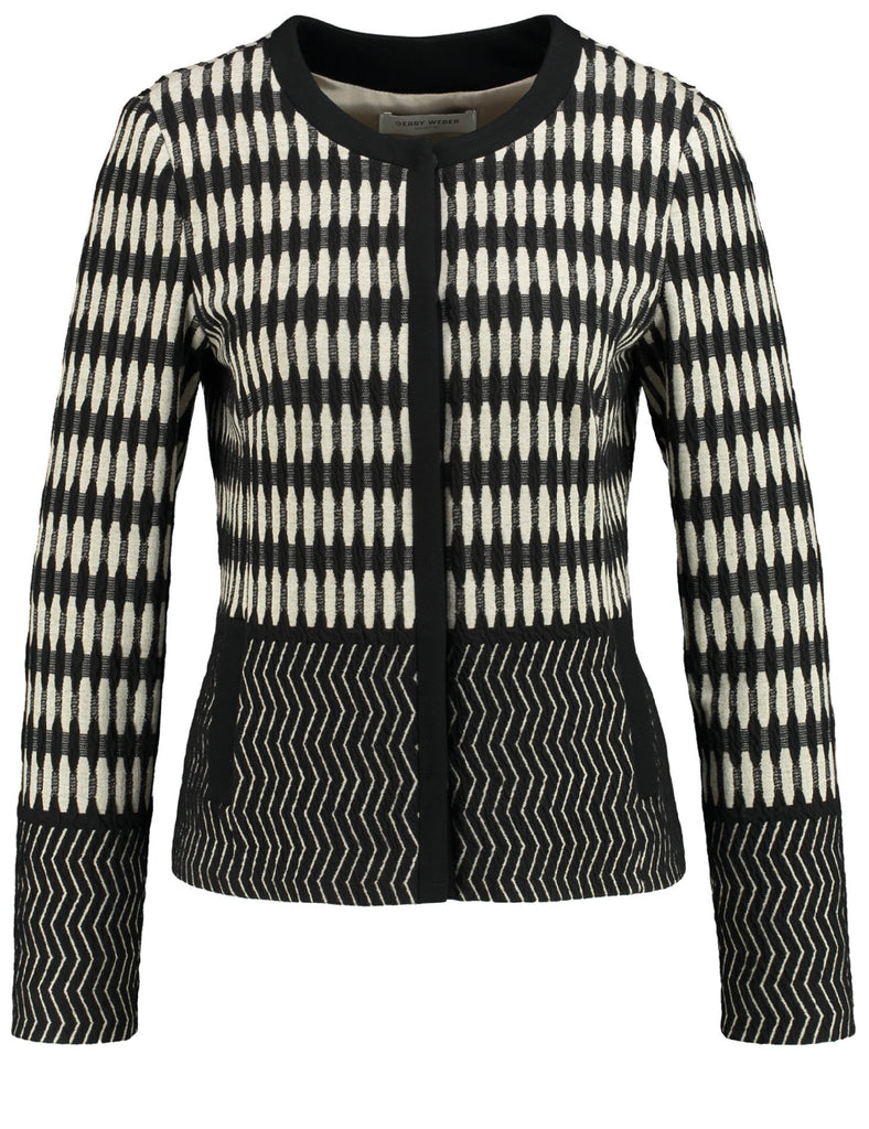 ffb51d74d6 GERRY WEBER Jacquard-knit Jacket – Chesca