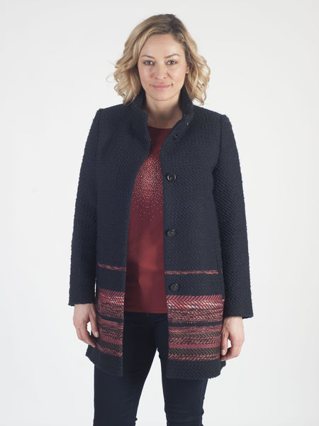 GERRY WEBER Bouclé Tweed Coat