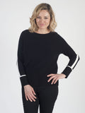 GERRY WEBER Black Cashmere-blend Jumper