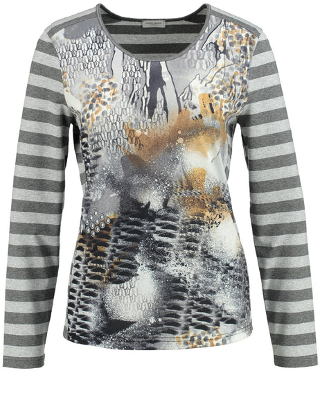 GERRY WEBER Multi-print Jersey Top