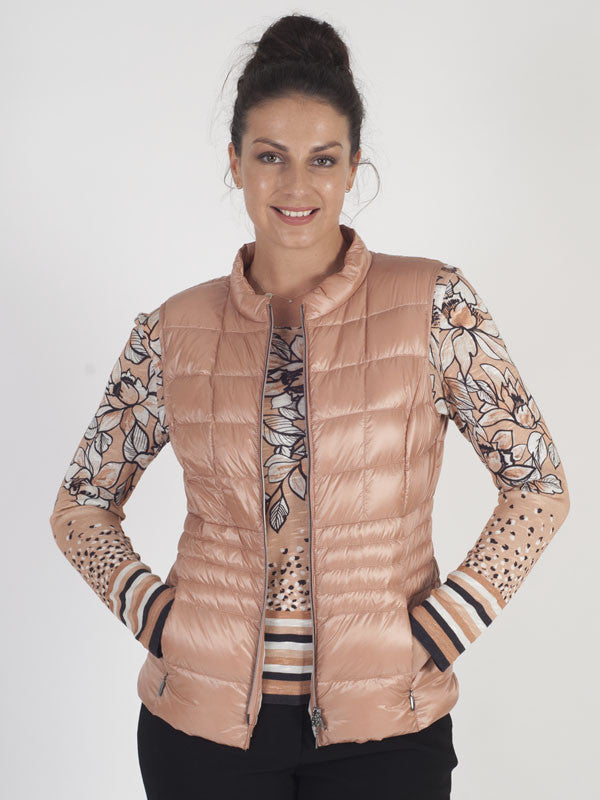 Gerry Weber Peach Padded Gilet