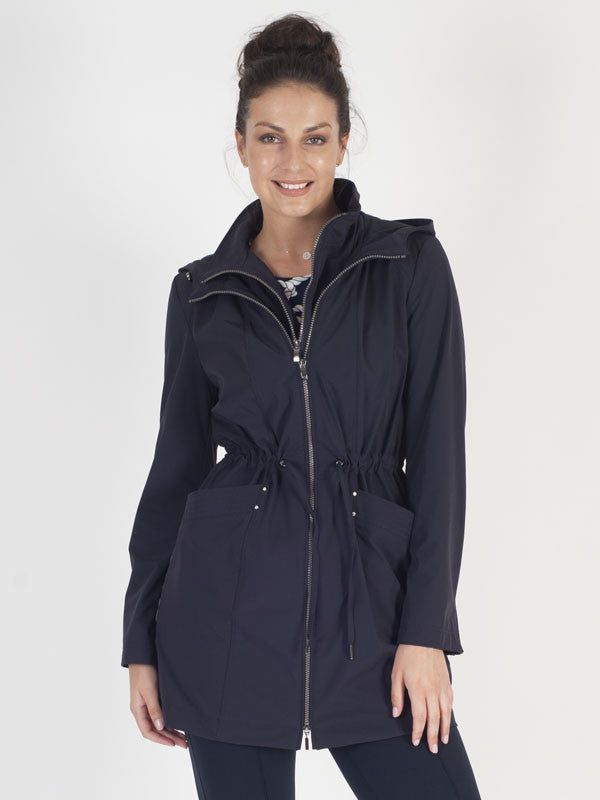 Gerry Weber Navy Blue Raincoat