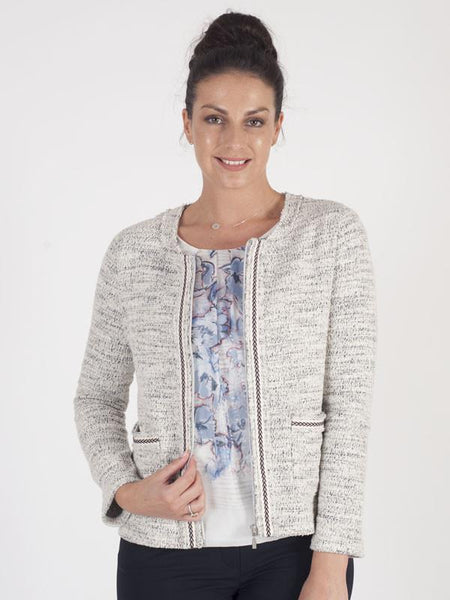 Gerry Weber Ivory Stretched Jacket