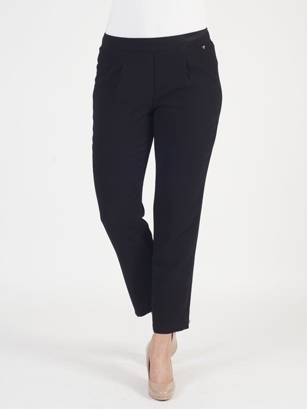 Gerry Weber Black Pull On Trouser