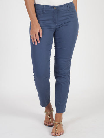 Gerry Weber Blue Stretch Trouser