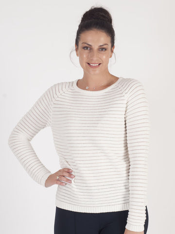 Gerry Weber Ivory Knitted Jumper