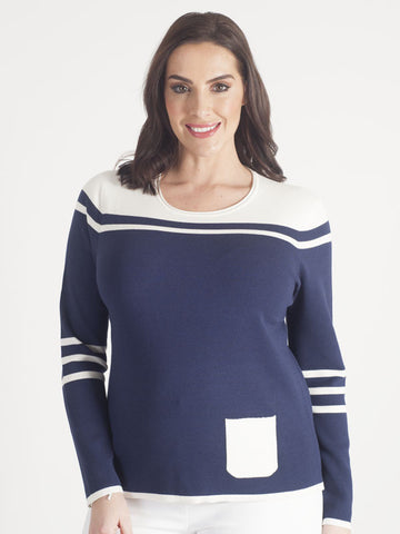 Gerry Weber Navy Jumper
