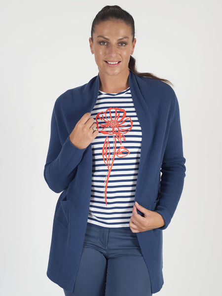 Gerry Weber Blue Knitted Cardigan
