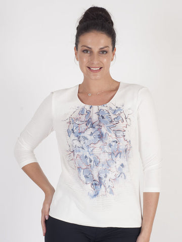 Gerry Weber Ivory Print Top