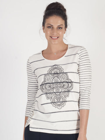 Gerry Weber Ivory Printed Top