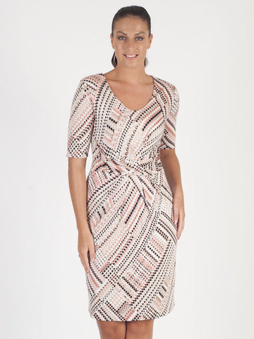 Gerry Weber Beige Spot Print Dress