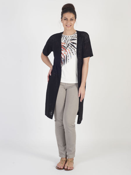 Gerry Weber Black Longline Cardigan