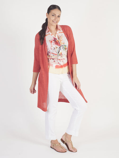 Gerry Weber Red Longline Cardigan