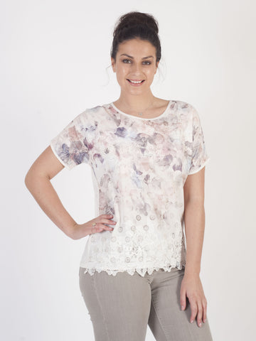 Gerry Weber Pastel Print Top