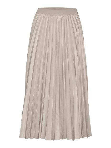 InWear Cream Pleated Skirt