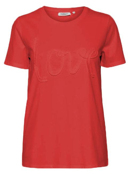 InWear Red Love Design T-shirt