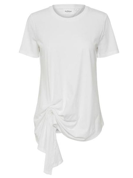 InWear White Drape Side T-shirt