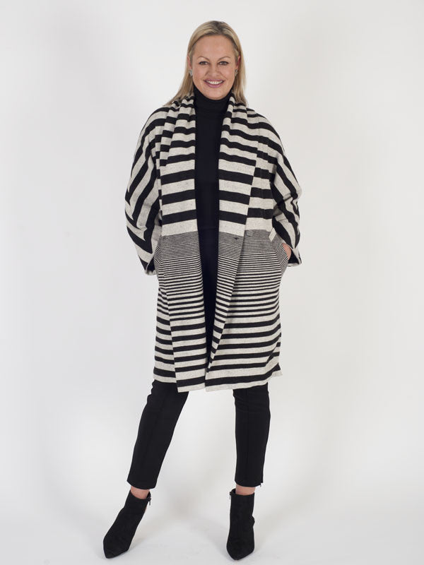 Isabel de Pedro Striped Coat