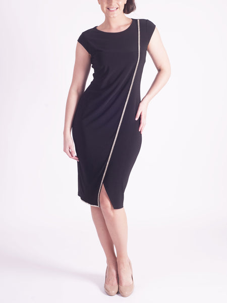 Joseph Ribkoff Black Jersey Dress