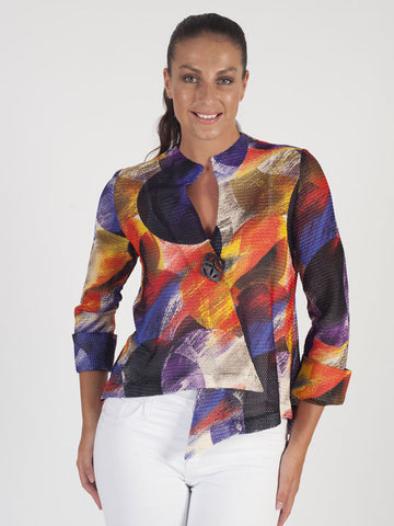 Joseph Ribkoff Multi Coloured jacket