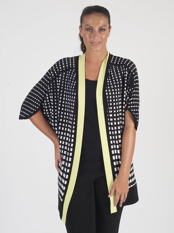 Joseph Ribkoff Black And White Jacket
