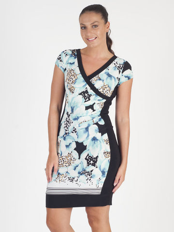 Joseph Ribkoff Floral Printed Dress