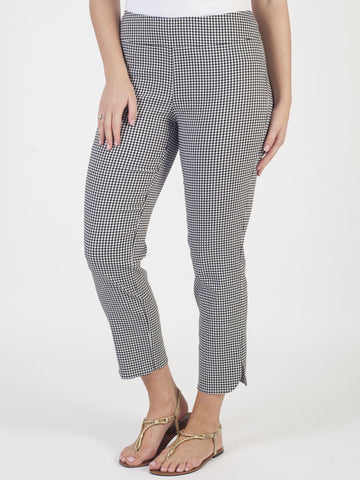 Joseph Ribkoff Black And White Check Trouser