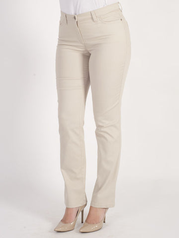 Michèle Magic Nude Soft Cotton Jeans – Short