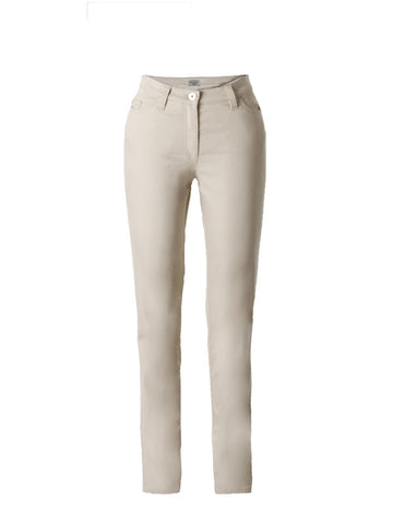 Michèle Magic Beige Soft Cotton Jeans – Short