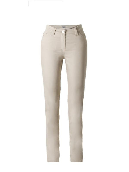 Michèle Magic Beige Soft Cotton Jeans – Regular