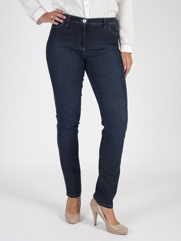 Michele Indigo Magic Denim Jeans - Regular Length